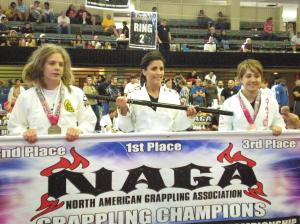 NAGA NC, Women's White Belt, Light weight