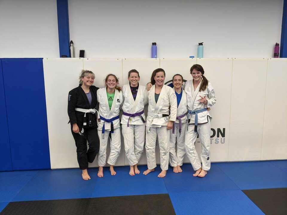 women on the mat